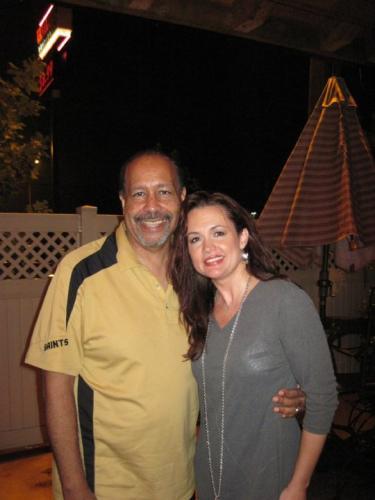 With Lance Nichols
