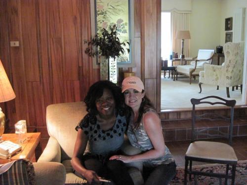 with Viola Davis